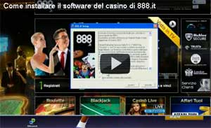 Come installare il casinò di 888.it. Facile.